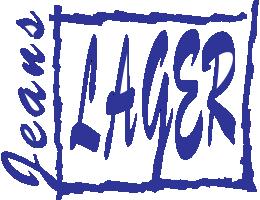 Jeans-Lager Logo